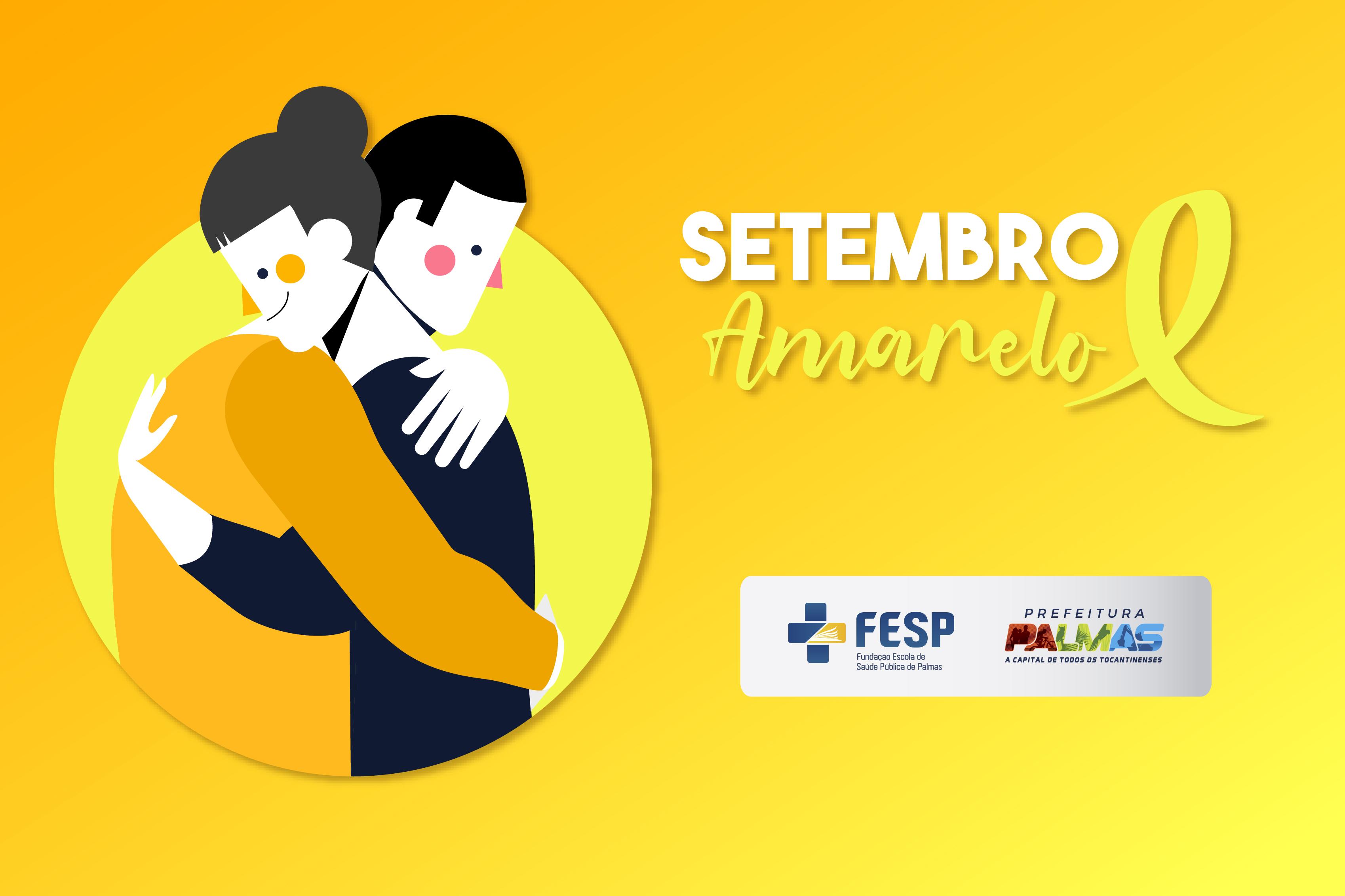 A data faz parte da campanha nacional de prevenção ao suicídio, o Setembro Amarelo,